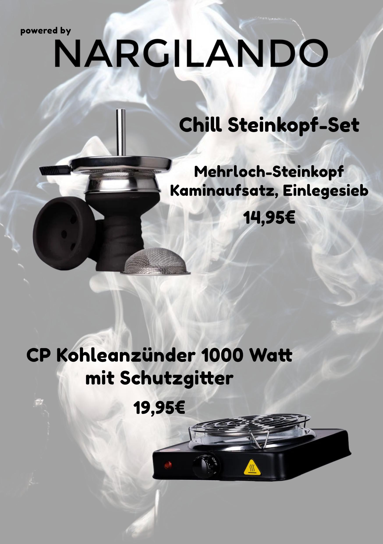 Steinkopf und Anzünder Website