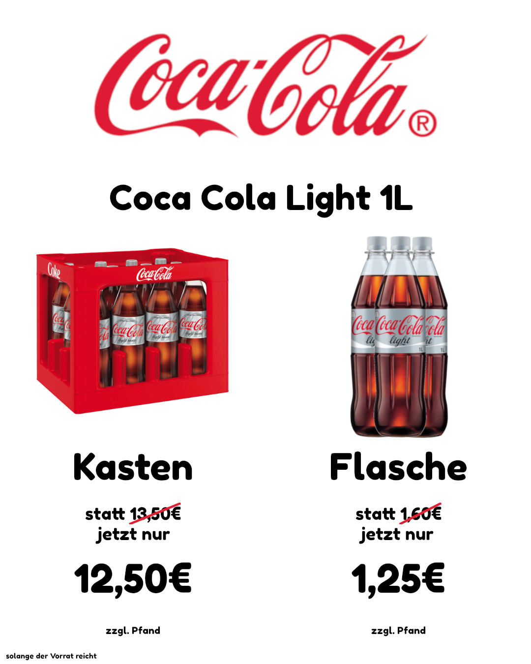 Coca Cola Light website